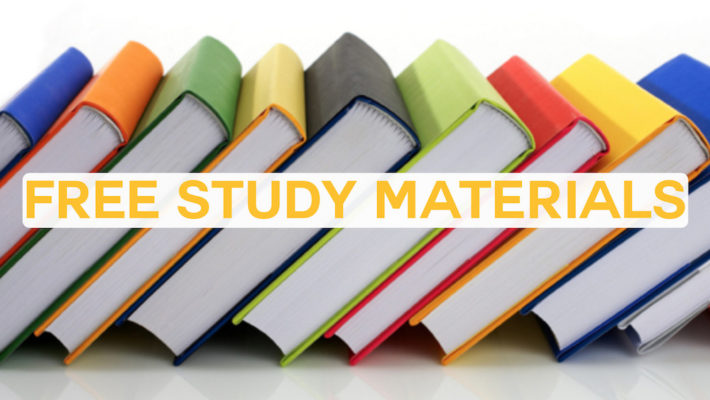 FREE PTE Study materials
