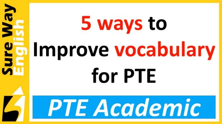 PTE Academic Vocabulary