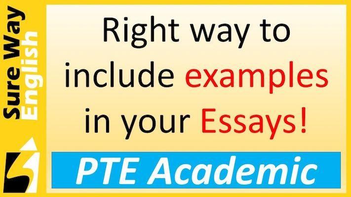 PTE Write Essay examples